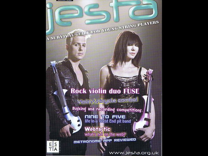 Fuse electric violinists - Jesta Magazine