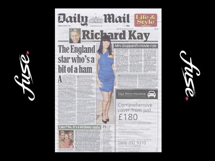Linzi Stoppard - The Daily Mail 2