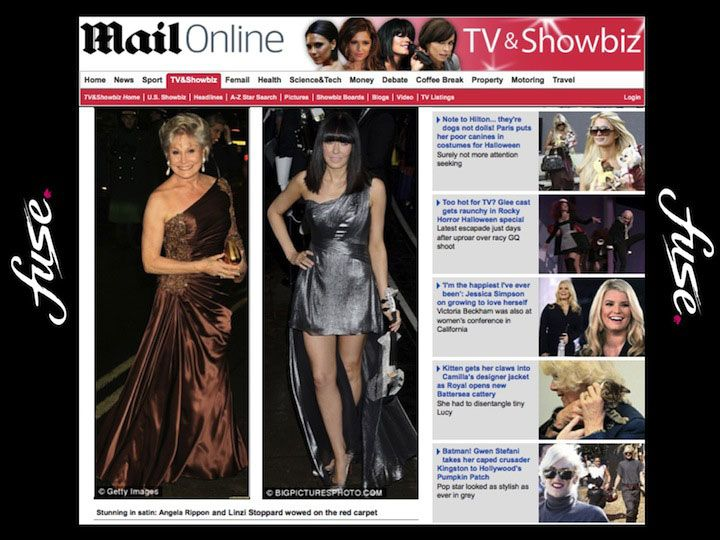 Linzi Stoppard - The Mail Online 2