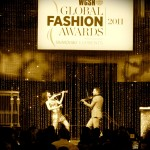 Broadway fashion awards linzi stoppard electric violinist