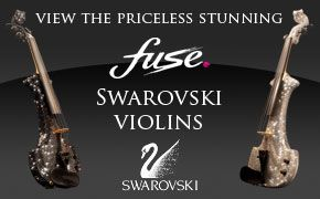fuse electric string quartet swarovski violins
