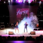 FUSE Violin Duo Performs Sell Out Concert At Singapore Grand Prix F1