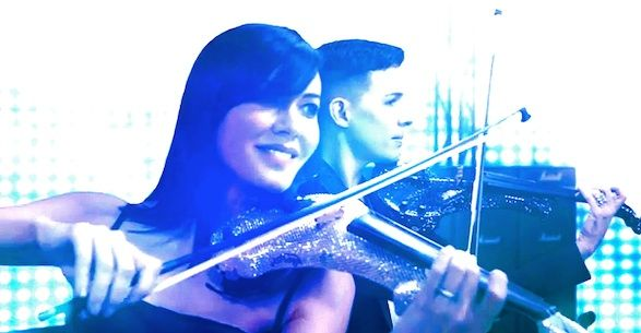 fuse electric violinists queen video 2a