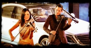 linzi stoppard electric violinist mercedes s500 launch india 14c