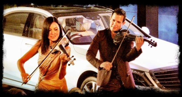 FUSE Electric Violinists Launch New Mercedes S-Class In India
