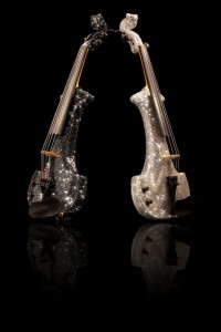 Corporate entertainment - add some bling with FUSE performing on their million dollar swarovski crystal violins...
