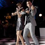 Electric Violin Duo Linzi Stoppard and Ben Lee Live In Montreal