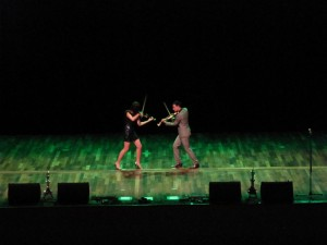 FUSE electric violinists istanbul linzi stoppard