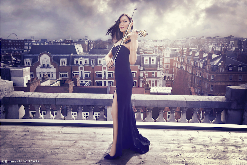 Linzi Stoppard Launches Fuse Violin Band New Single Fuse