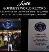 Ben Lee - Guiness Book of Records