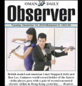 Fuse electric violinists - Oman Daily Observer