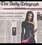 Linzi Stoppard - The Daily Telegraph