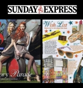 Linzi Stoppard - The Sunday Express 2