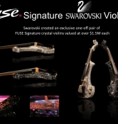 fuse electric violinist million dollar crystal violins