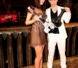 linzi stoppard fuse electric violinist swarovski crystal harrods photo call