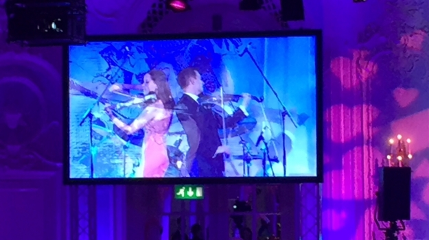 Fuse Electric Violinists Perform For MacMillan Cancer Support