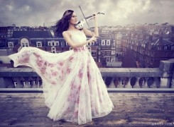 Linzi Stoppard Launches FUSE Violin Band New Single